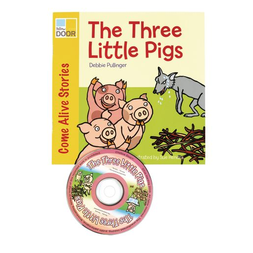 The Three Little Pigs Book Pack