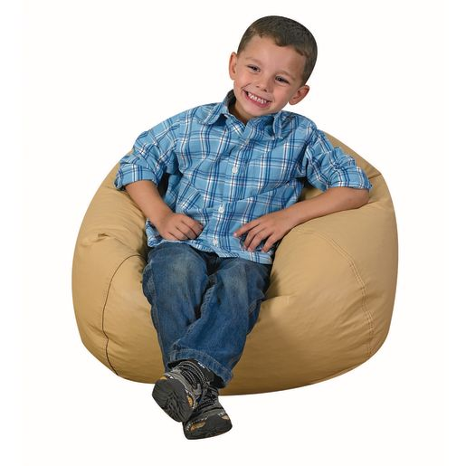 "35"" Cozy Woodland Beanbag - Almond"