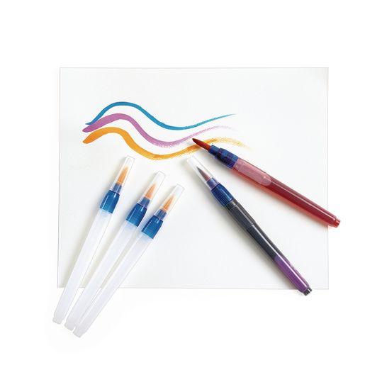 Aqua-Flo™ Watercolor Brushes - Set of 12