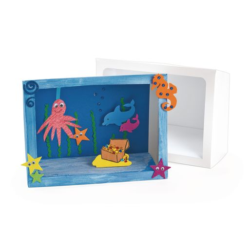 Jumbo Diorama Boxes - Set of 12