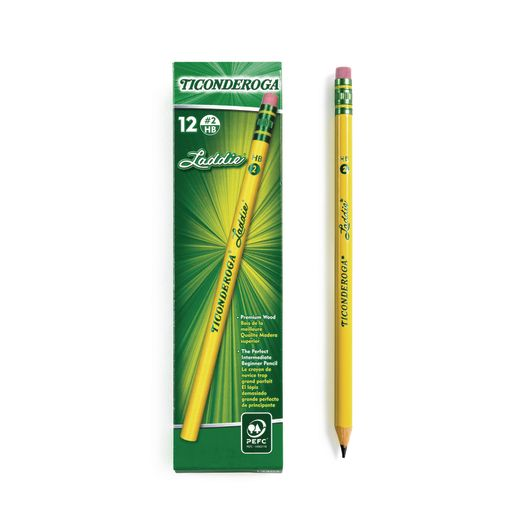 Ticonderoga® Laddie® No.2 Pencils - Set of 12