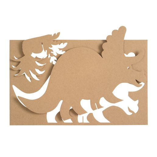 Collage-a-Saurus Art Boards - Set of 25