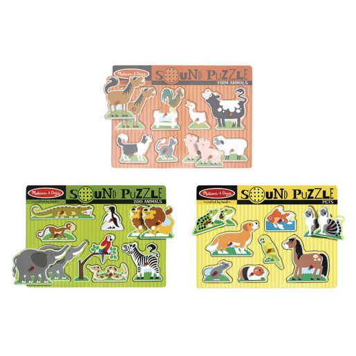 Sound Puzzles - Set of 3