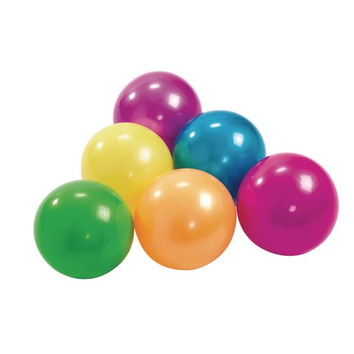 High-Bounce Play Balls - Set of 6_0