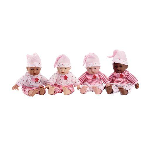 """11"""" Soft Body Baby Dolls - Set of All 4"""