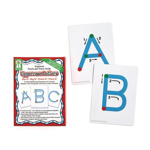 Textured Traceable Letters - Uppercase