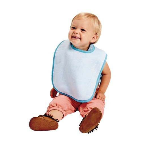 Environments® Terry Bibs with Hook & Loop Closure - Set of 12