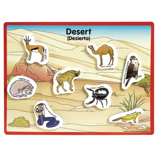 Excellerations® Animals in Their Habitats - 6 Boards, 48 Pieces_1