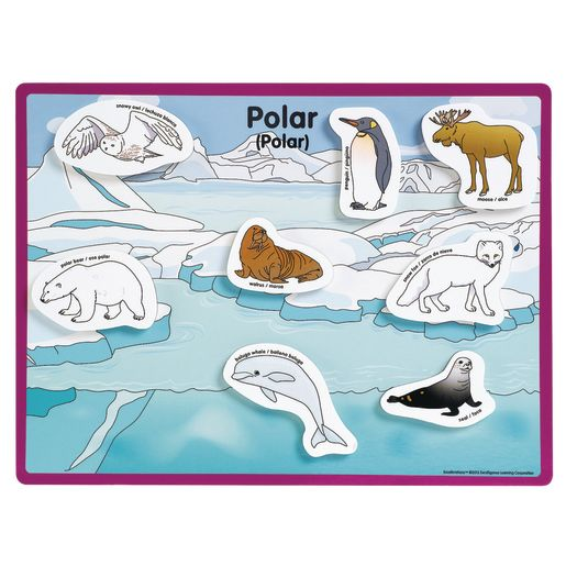 Excellerations® Animals in Their Habitats - 6 Boards, 48 Pieces_4