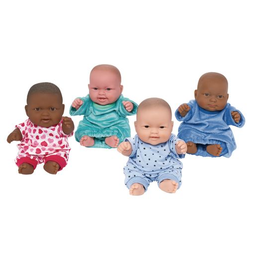 "Set of Four 10"" Huggy Babies"