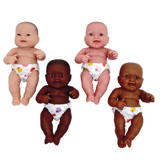 "Set of Four 14"" Huggy Babies"