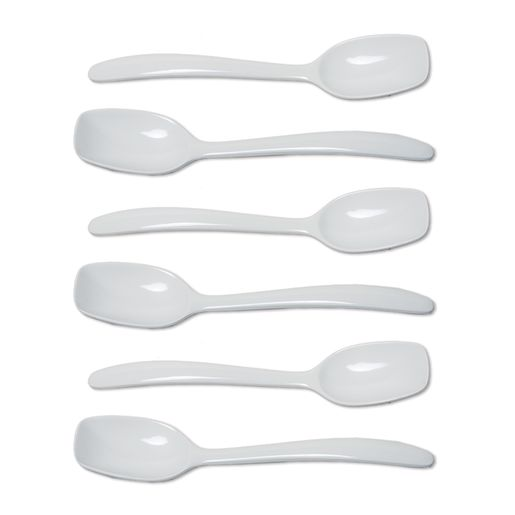 6 Plastic Serving Spoons