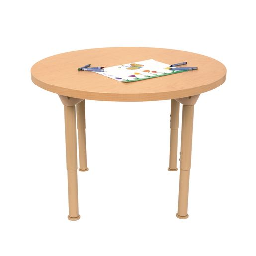 "Environments® 30"" Round Table with Adjustable Legs"