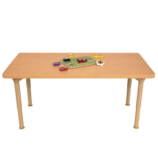 "Environments® 24"" x 48"" Rectangular Table with Adjustable Legs"