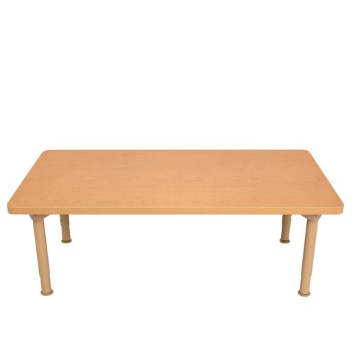 """Environments® 24"""" x 48"""" Rectangular Table with Metal Legs"""