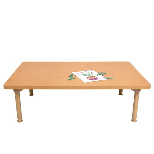 "Environments® 30"" x 48"" Rectangular Table with Metal Legs"