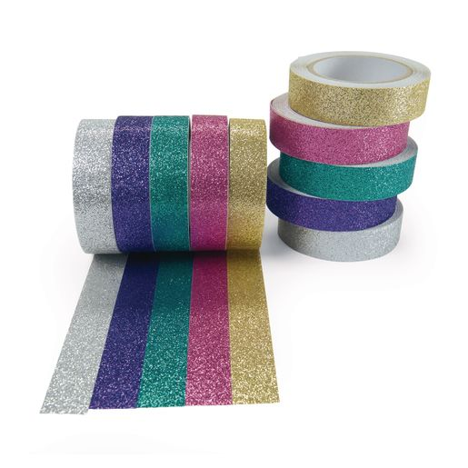 Colorations® Glitter Craft Tape - Set of 10
