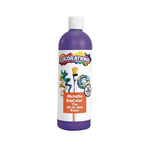 Image of BioColor Paint, Metallic Purple - 16 oz.