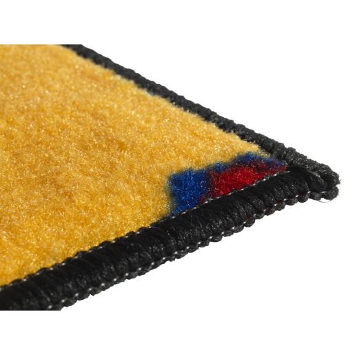 "Go-Go Driving 3' x 4'6"" Rectangle Kids Value Carpet"