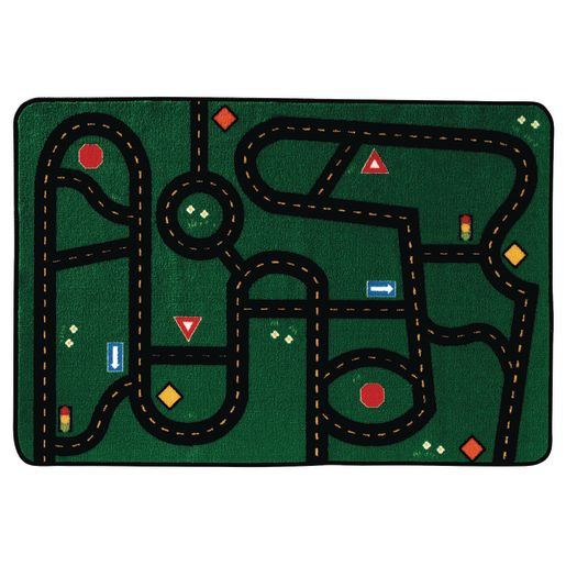 Go-Go Driving Value Rug - 4' x 6' Rectangle