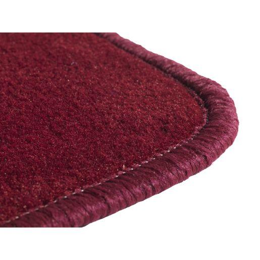 """Solid Color Carpet - Cranberry 5'10"""" x 8'5"""" Rectangle"""