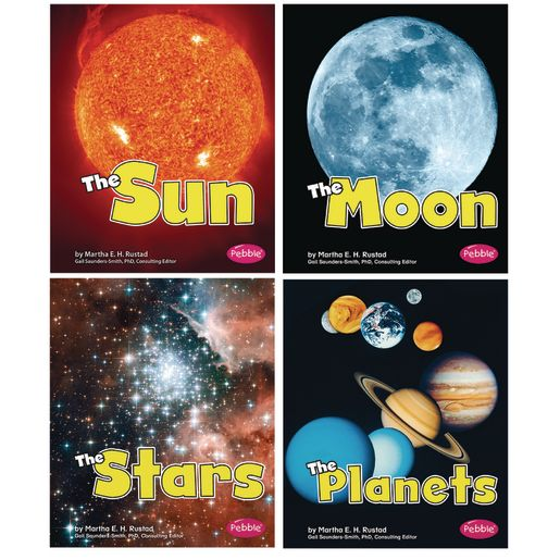 Space Paperback Books - 4 Titles