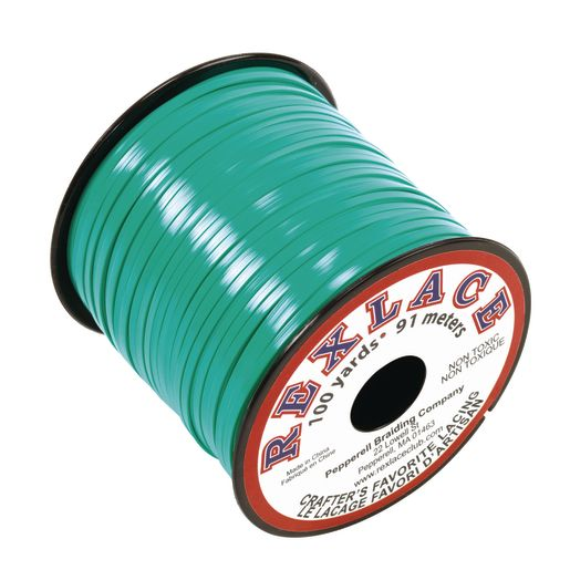 Image of Turquoise Rexlace Lacing, 100-Yard Spools