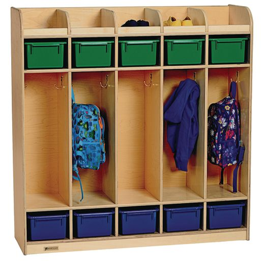 Image of MyPerfectClassroom 5-Section Locker - Preschool
