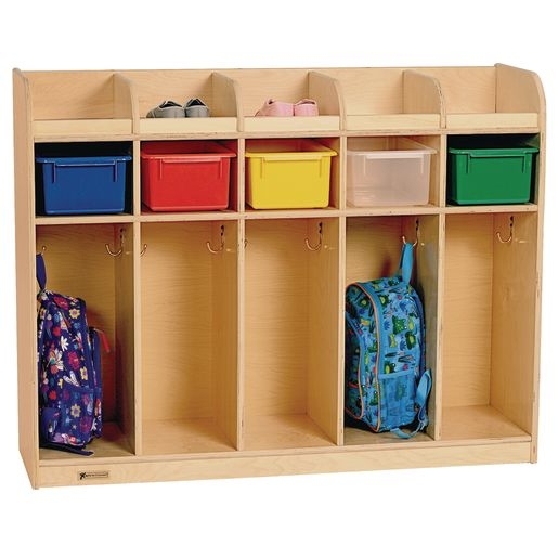 Image of MyPerfectClassroom 5-Section Locker - Toddler