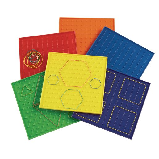 Image of Excellerations 9 Geoboards - Set of 6