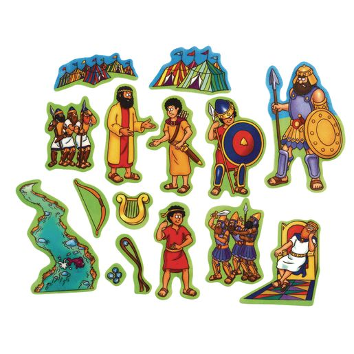 David & Goliath Beginners Bible™ Felt Story Set