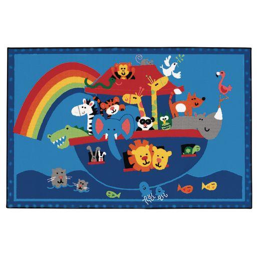 Noah's Animals Value Rug - 4' x 6'