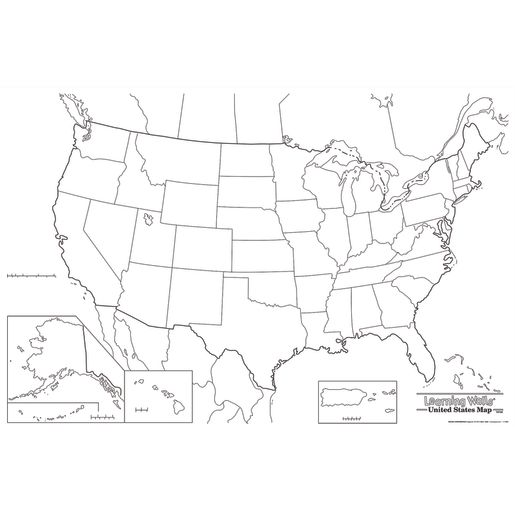 Learning Wall - U.S.A. Map