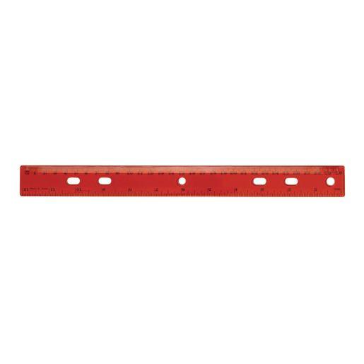 """12"""" Standard & Metric Plastic Ruler_0"""