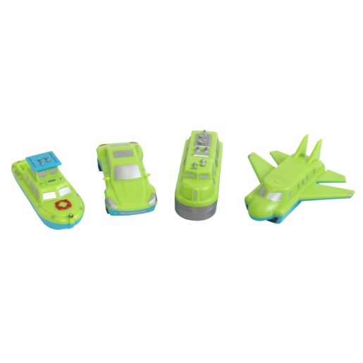 Magnetic Mix & Match Vehicles - Set of 4