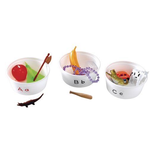 Hands-On Alphabet Tubs