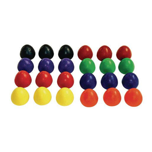 Colorations® Chubby Crayon Eggs - Set of 24