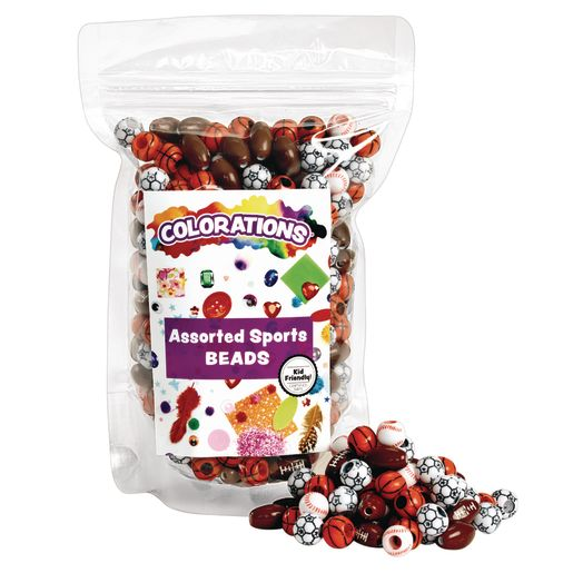 Colorations® Super Sport Beads - 1/2 lb.