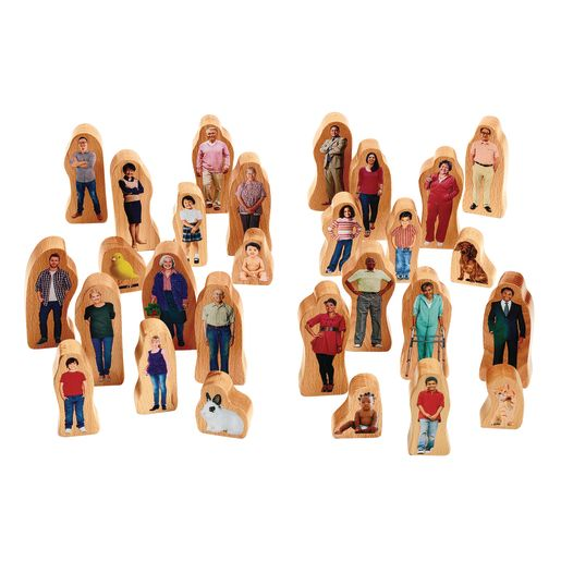 Excellerations® Photo Block Play People -28 Pieces