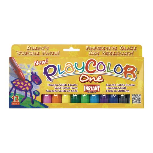PlayColor® Tempera Sticks Set of 12