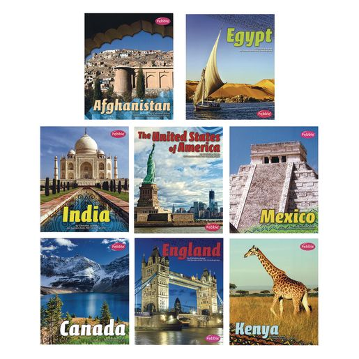 Countries of the World Paperback Books - 8 Titles