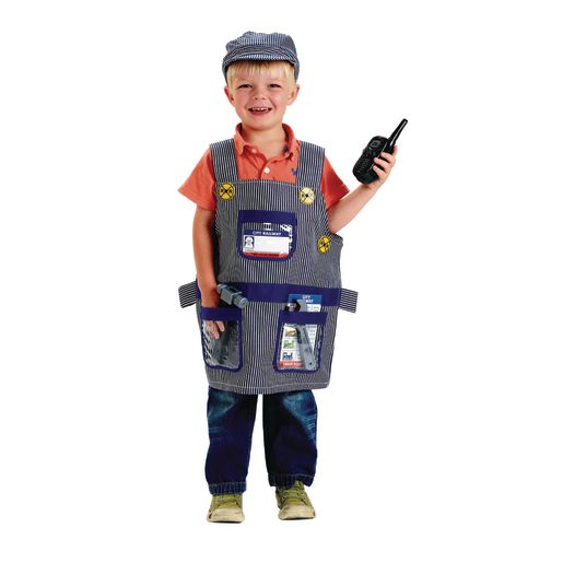 Image of Train Engineer Role Play Costume Dress-Up Set