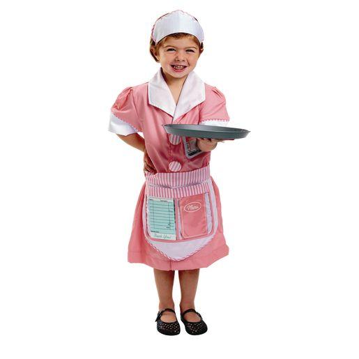 Let's Pretend Waitress Costume