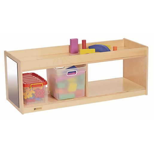 MyPerfectClassroom® Toddler Storage With Clear Back & Mirrors