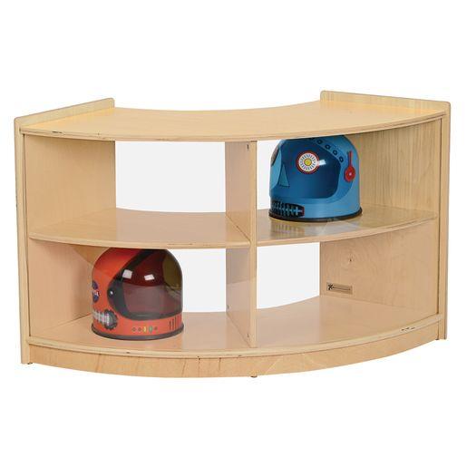 MyPerfectClassroom® Curved Storage Unit
