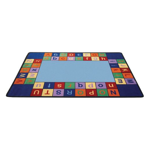 "Colorful ABC Carpet - 5'10"" x 8'5"" Rectangle"