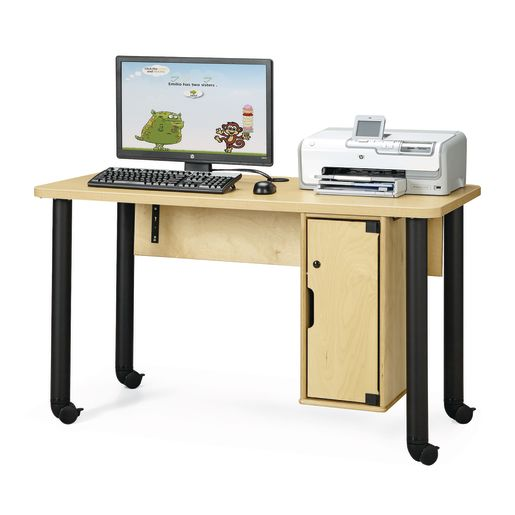 Single Computer Lab Table