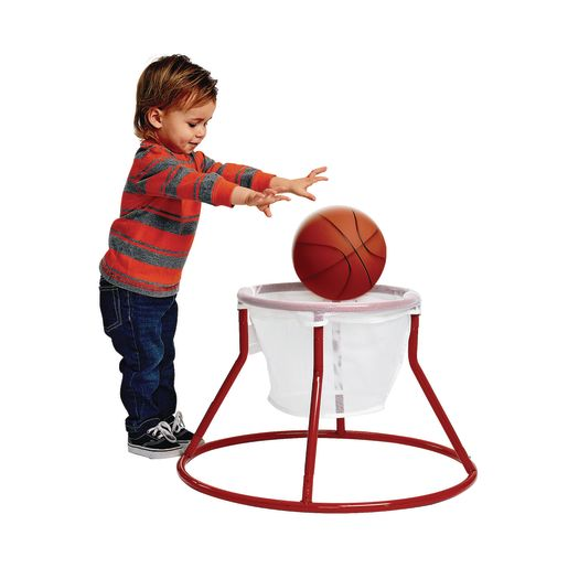 Image of Excellerations Floor Hoop Ball Goal