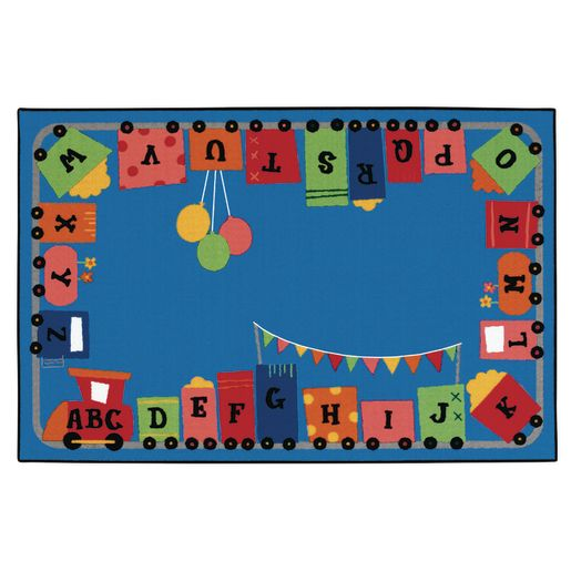 Alpha Fun Train ValuePLUS™ - 6' x 9' Rectangle
