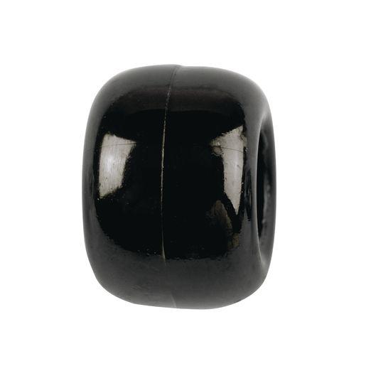 Black Pony Beads - 1/2 lb.